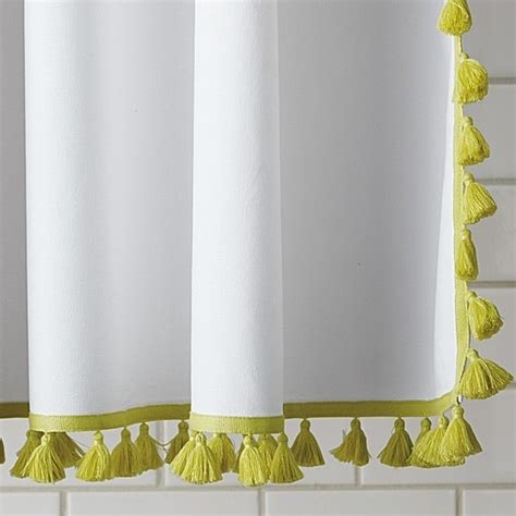 serena and lily shower curtain tassel shower curtain by serena lily object lesson