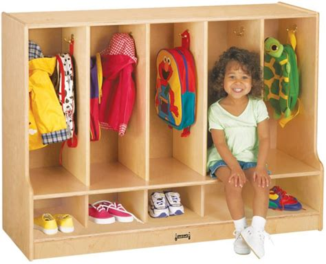 Infant Classroom Furniture by Toddler Coat Locker With Seats