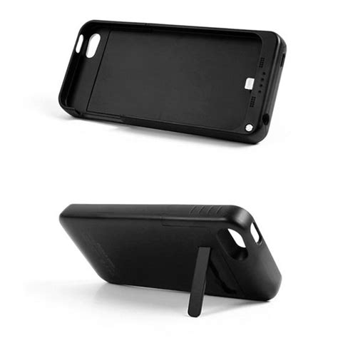 cargador funda iphone 5 cargador funda bater 237 a recargable iphone 5 5s 2200mah