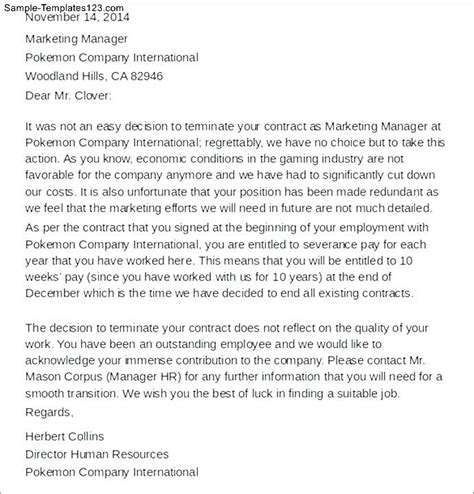 termination letter sle due to restructuring termination letter sle due to downsizing 28 images
