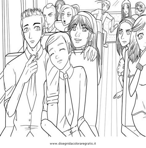 free coloring pages of glee pages