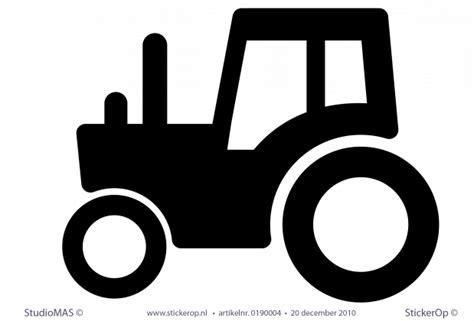 muurstickers boerderij tractor