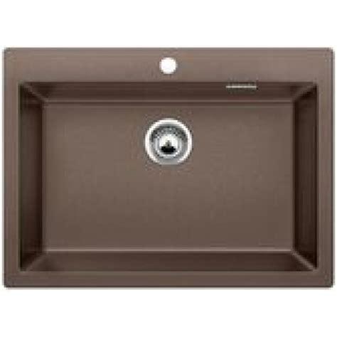 blanco kitchen sinks uk blanco pleon 8 silgranite single bowl sink no drainer coffee