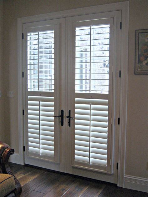 blinds and curtains for patio doors best 25 french door blinds ideas on pinterest french