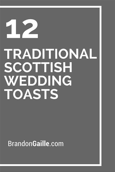 Wedding Blessing Scottish by 1000 Ideas About Scottish Wedding Traditions On