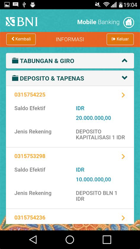 format sms banking antar bank bni bni mobile banking 2 1 21 apk download android финансы