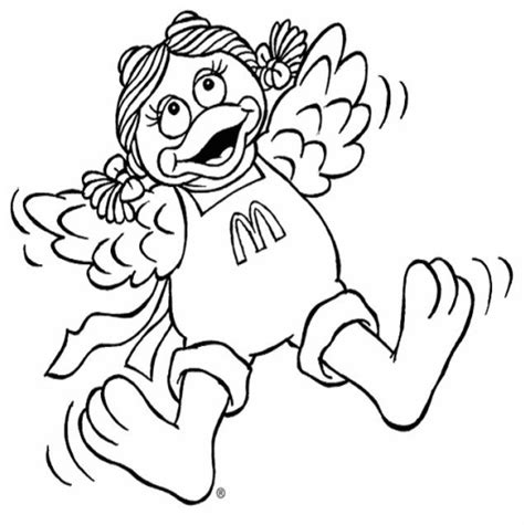 coloring pages photos where s ronald mcdonald