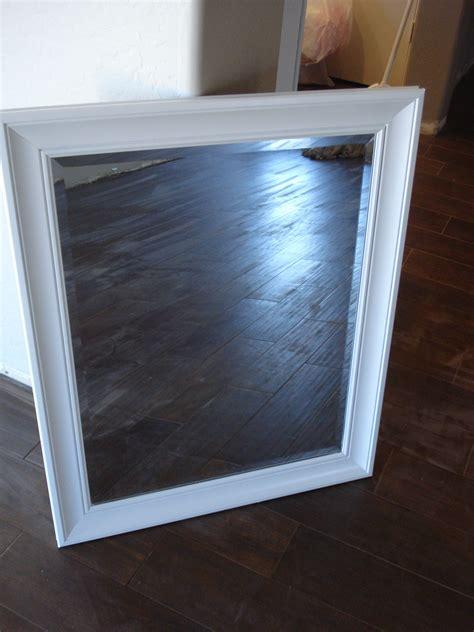 how to spray paint a mirror frame littlehousebigplans