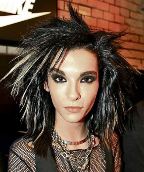 pics of hairstyles bill kaulitz shows his colorful new hairstyle 3 pics