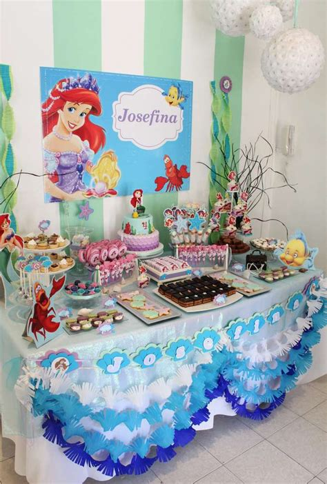 mermaid table ideas brokeasshome