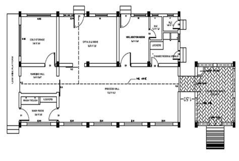 slaughterhouse floor plan nrcm meat abattoir design and construction
