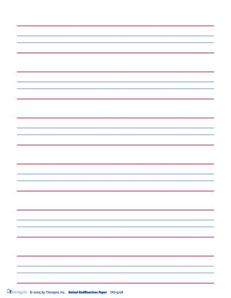 four line writing paper blue lines paper 50 sheets