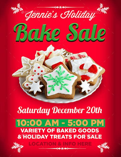 34 Bake Sale Flyer Templates Free Psd Indesign Ai Format Download Free Premium Templates Cookie Flyer Template Free
