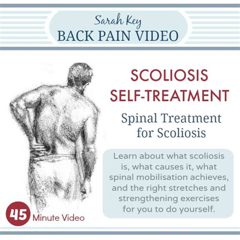 back treatment with key self help scoliosis reflief