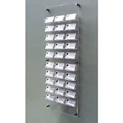 wall mounted business card holder 163 59 94 free uk delivery