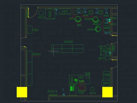 layout cad download dispensing pharmacy room in a hospital or drugstore 2d dwg