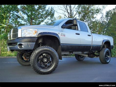 2007 Dodge Ram 3500 SLT Long Bed 6.7L Turbo Diesel Lifted