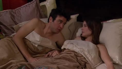 himym beds image benefits ted and robin in bed png how i met
