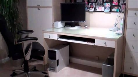 desk that hides wires hide your computer desk wiring