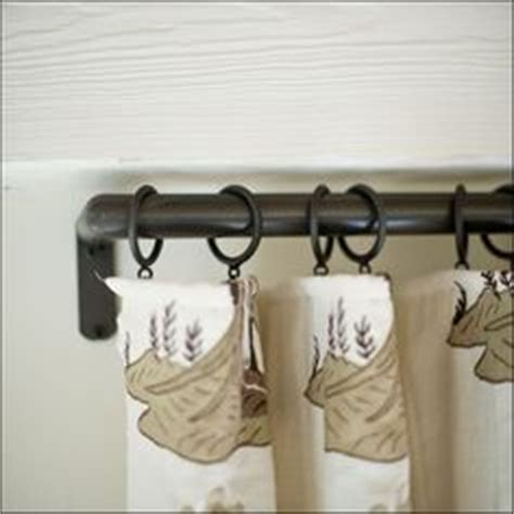 flush mount curtain rod 1000 images about drapery hardware on pinterest drapery