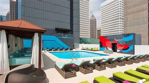 W Hotel Atlanta Rooftop Bar Atlanta Midtown Hotel W Atlanta Midtown
