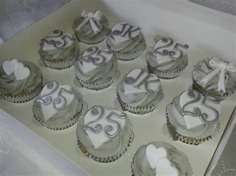Wedding Anniversary Cupcakes by Golden Wedding Anniversary Cupcakes The Dotty Bakery
