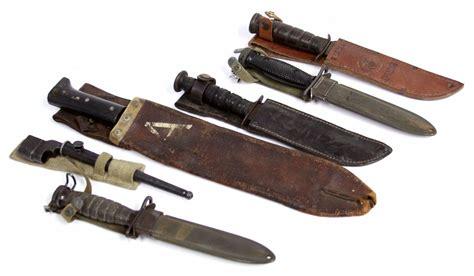 ka bar bayonet wwii bayonet us ka bar knife machete lot of six