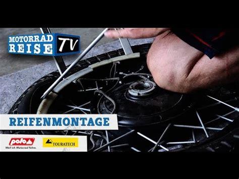 Motorradreifen Bmw F 800 R by Enduro Reifen Und Schlauch Wechsel An Einer Ktm 690 Felge