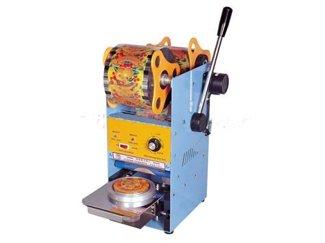 Mesin Cup Sealer 2001b Alat Press Kemasan Tutup Minuman Gelas Plastik mesin cup sealer manual alat pengemas minuman cup toko mesin industri supplier mesin