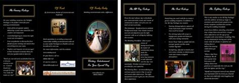 Wedding Dj Brochure by Marketing Ideas For Mobile Djs