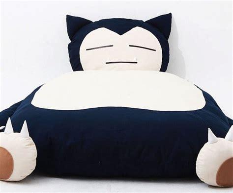 snorlax bed home accessory pokemon bedding bedroom teen bedrooms