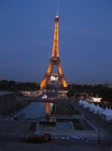 Light Tower Paris At Night June 05