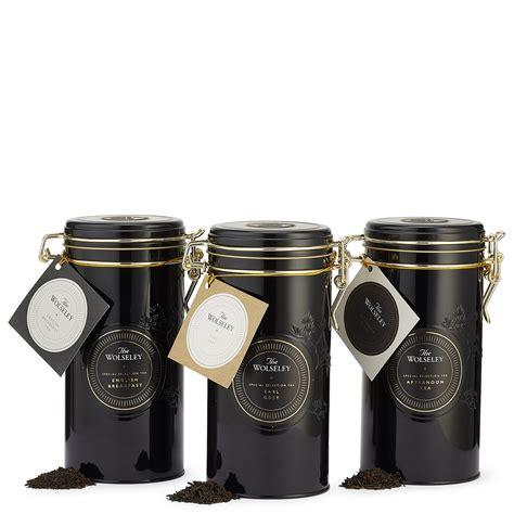 Tea Tin leaf tea tin gift set the wolseley