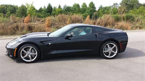 Corvette Black sold 2014 chevrolet corvette stingray 2lt black automatic