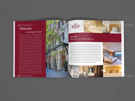 Hotel Brochure Template by Hotel And Motel Brochure Template Vol 2 12 Pages By