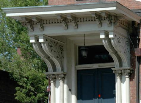 House Of Corbels Doorway Roof With Corbels Peckham House Before
