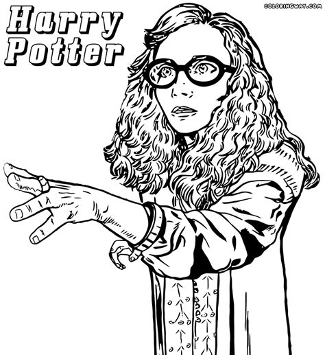 harry potter coloring pages ginny weasley harry potter adult coloring pages coloring home