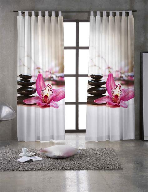 Home Decoration Curtains rideau 171 zena 187 avec orchid 233 es