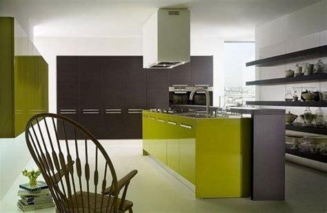 muebles verdes cocina casa web