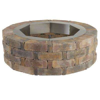 rumblestone pit insert pits outdoor heating the home depot