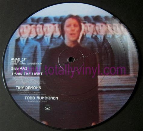 totally vinyl records rundgren todd i saw the light