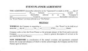 Sle Event Contract by Event Contract Template 18 Free Word Excel Pdf Documents Free Premium Templates