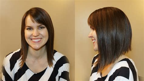how to style an aline bob when you have fine thin hair how to cut hair 53 latest haircuts page 5 of 6