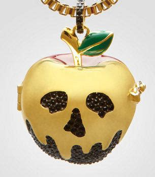 Umbrella Necklace From Fred Flare by Disney Couture Poison Apple Necklace From Fredflare