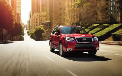 subaru forester red 2018 subaru forester 2018 red color on road upcoming suv in