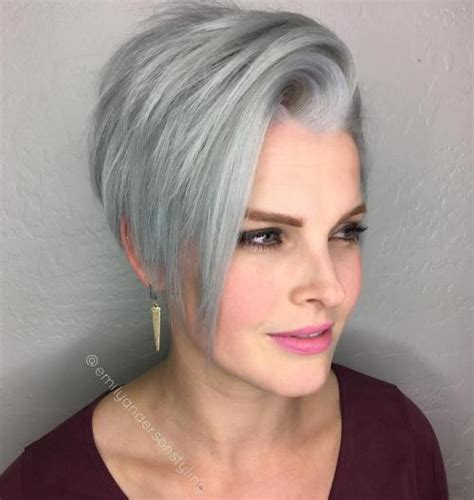 hairstyles for grey hair oval face 40 flattering haircuts and hairstyles for oval faces