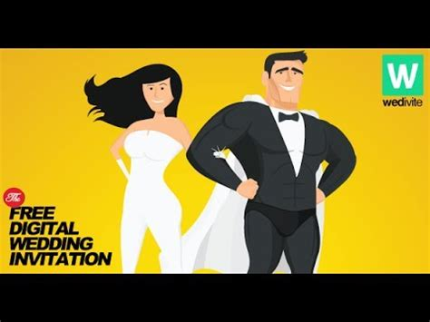 Free Wedding Animation Maker by How To Create Your Free Wedding Invitation In