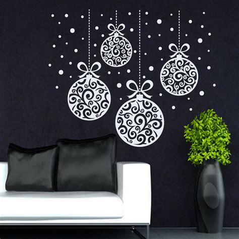 decorative decals for home aliexpress com buy new arrived christmas home window art