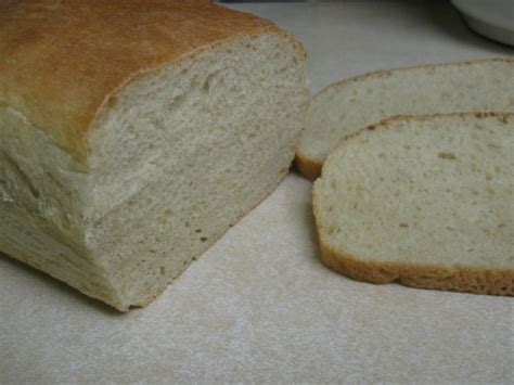 White Bread Recipe Bread Machine Fluffy White Bread Bread Machine Recipe Food Com