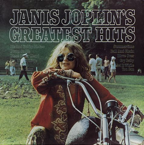 janis joplin janis joplins greatest hits vinyl lp compilation reissue discogs